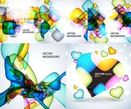 free vector Dream bubble theme vector