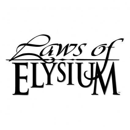 free vector Laws of the elysium