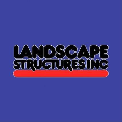 free vector Landscape structures
