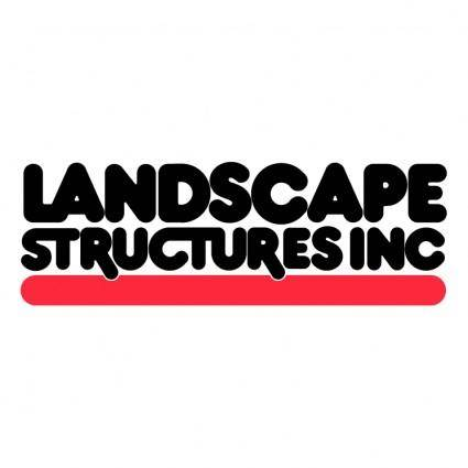free vector Landscape structures 1