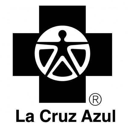 free vector La cruz azul