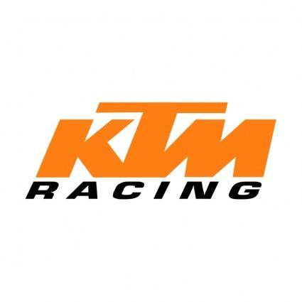 free vector Ktm racing