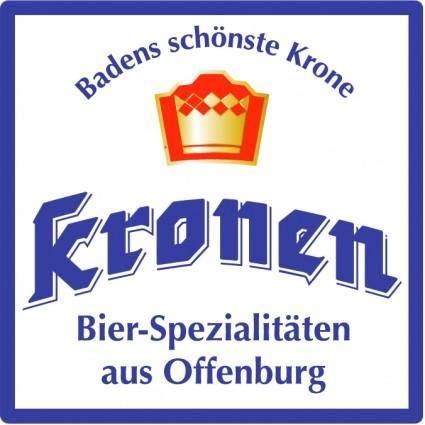 free vector Kronen brauhaus