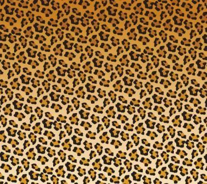 free vector Vector leopard