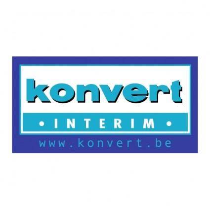Konvert interim