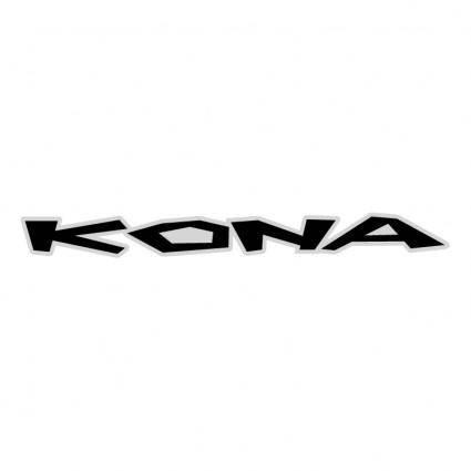 free vector Kona 2004