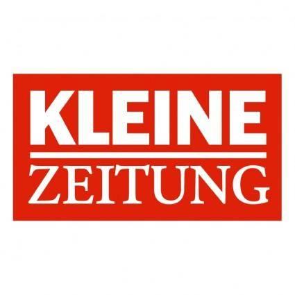 free vector Kleine zeitung