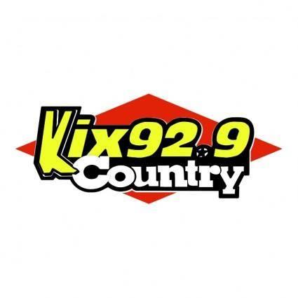 Kix country radio 929