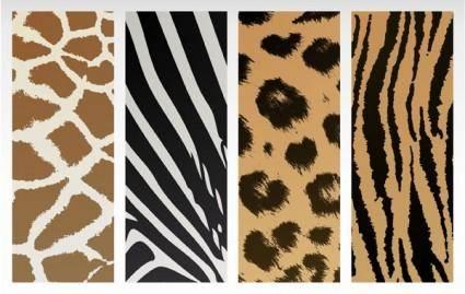 free vector Animal texture vector