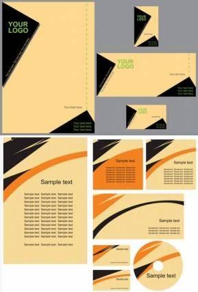 Simple vi template vector