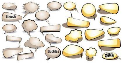 Dialogue bubbles vector