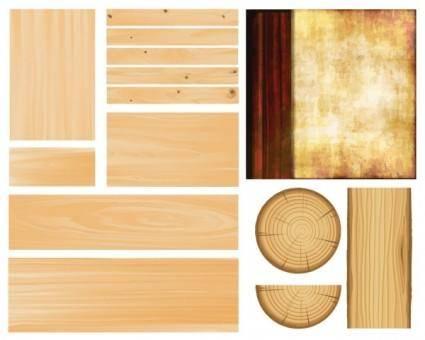 free vector Wood grain vector