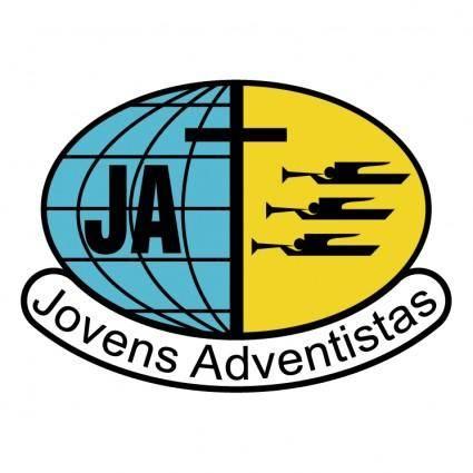 free vector Jovens adventistas