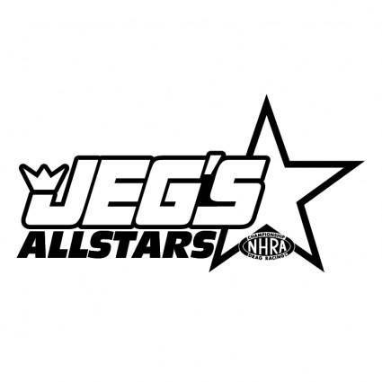 free vector Jegs allstars