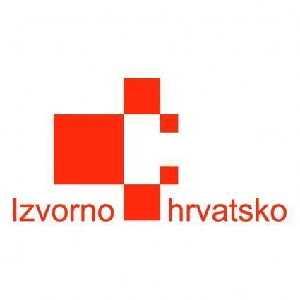 free vector Izvorno hrvatsko