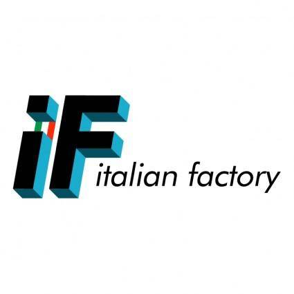 free vector Italian factory