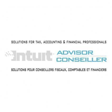 Intuit advisor conseiller
