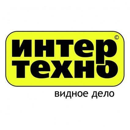 free vector Intertehno