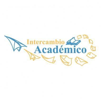 free vector Intercambio academico