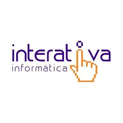 free vector Interativa informatica