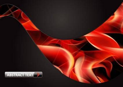 free vector Vector 8 flame red smoke