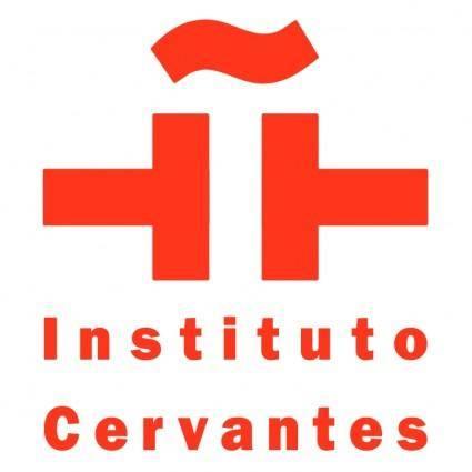 free vector Instituto cervantes