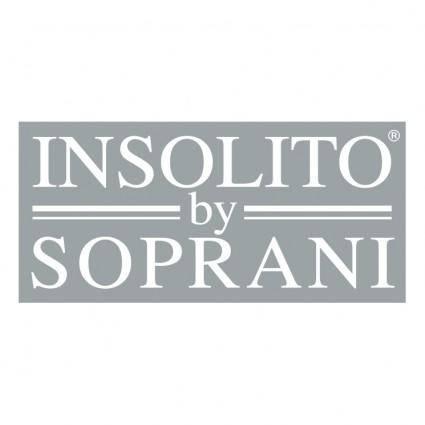 free vector Insolito by soprani