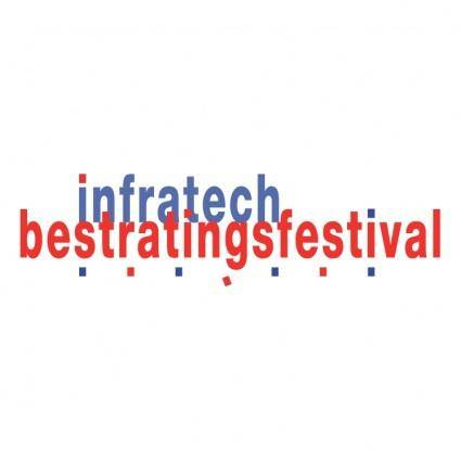 free vector Infratech bestratingsfestival