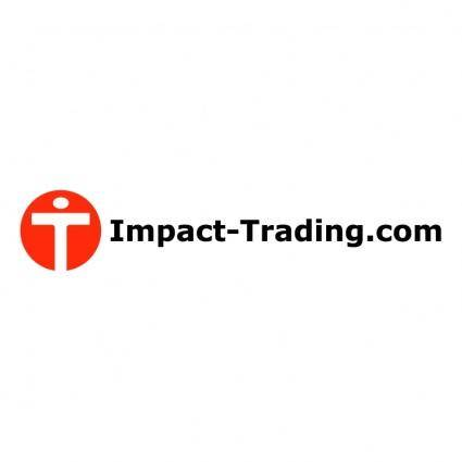 free vector Impact trading
