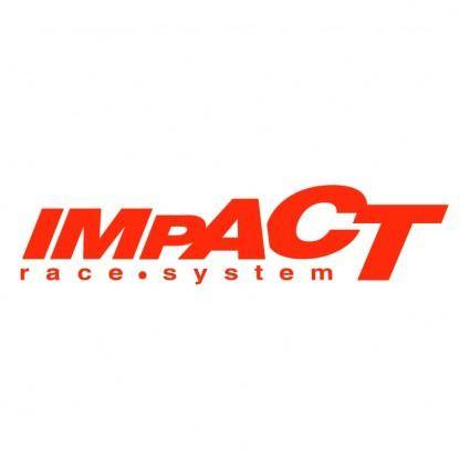 free vector Impact race system
