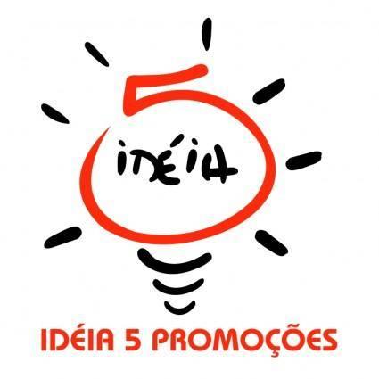 free vector Ideia5 publicidade