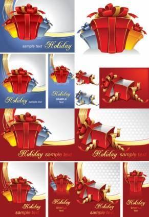 free vector Gift box vector