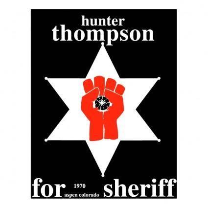 free vector Hunter s thompson
