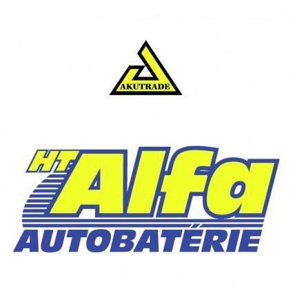 Ht alfa autobaterie