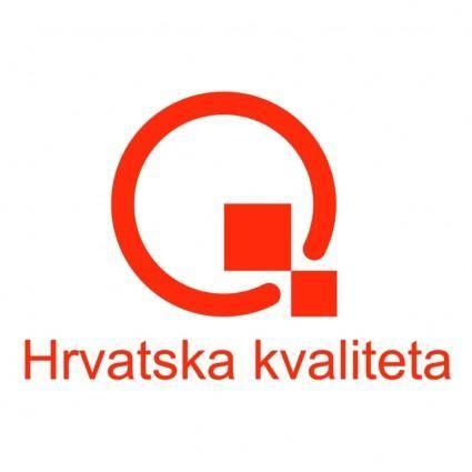 free vector Hrvatska kvaliteta