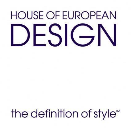 free vector House of european design