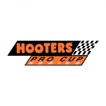 free vector Hoooters procup racing
