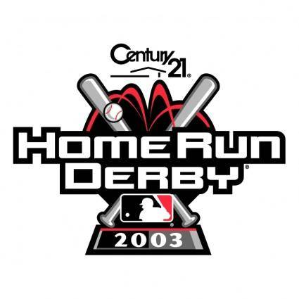 free vector Home run derby 2003