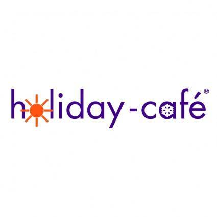 free vector Holiday cafe