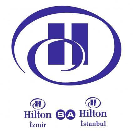 free vector Hilton izmir istanbul