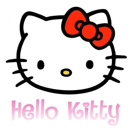 free vector Hello kitty 1