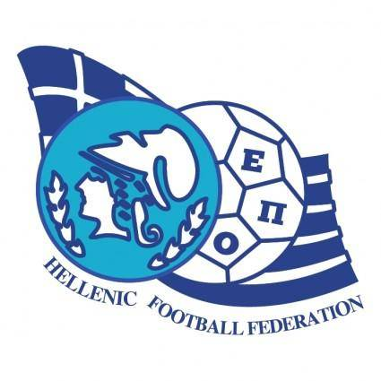 free vector Hellenic football federation