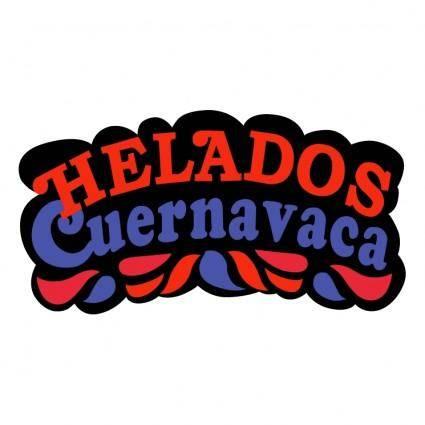 free vector Helados cuernavaca