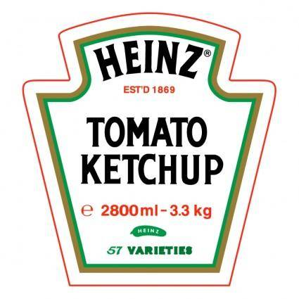 free vector Heinz tomato ketchup