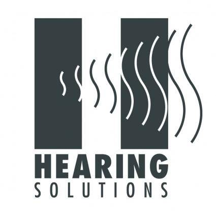 free vector Hearing solutions