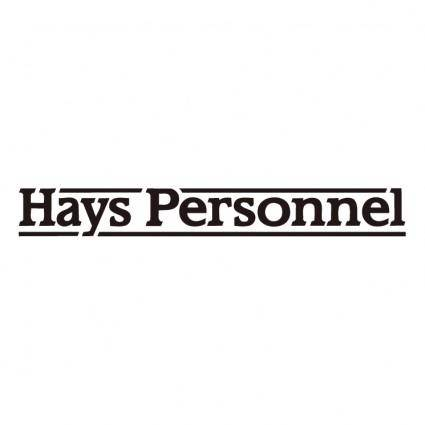 Hays personnel