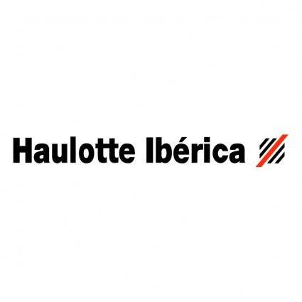 free vector Haulotte iberica