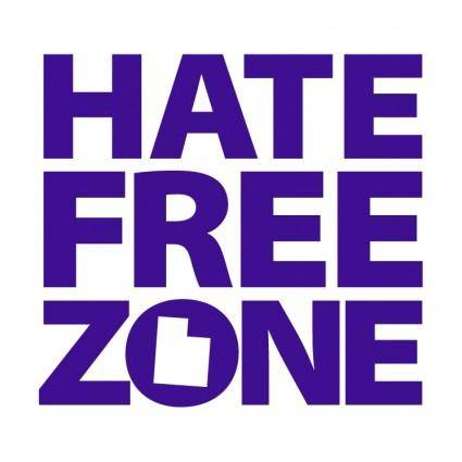 free vector Hate free zone