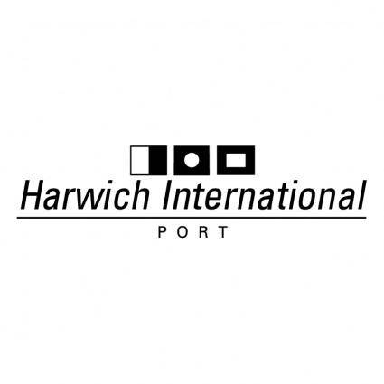 free vector Harwich international port