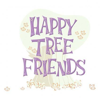 free vector Happy tree friends 0